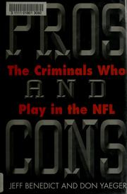Cover of: Pros and cons by Jeff Benedict