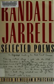 Poems by Randall Jarrell