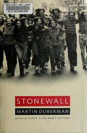 Stonewall by Martin B. Duberman