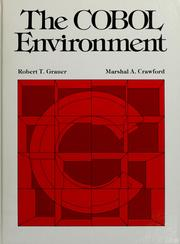 The COBOL environment by Robert T. Grauer