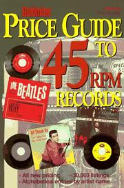 Cover of: Goldmine price guide to 45 rpm records by Tim Neely