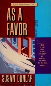 As a favor by Susan Dunlap