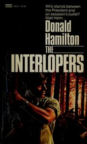 Cover of: The Interlopers by Donald Hamilton