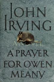 Cover of: A prayer for Owen Meany by John Irving
