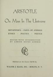 On man in the universe by Aristotle