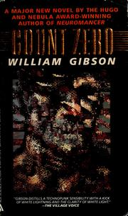 Cover of: Count Zero by William F. Gibson