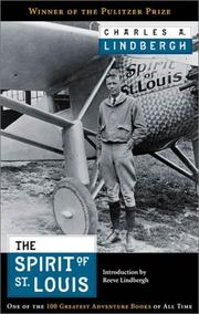 The Spirit of St. Louis by Lindbergh, Charles A.
