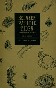 Cover of: Between Pacific tides by Edward Flanders Ricketts