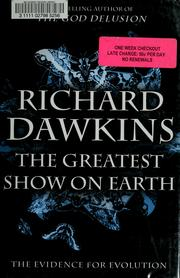 Cover of: The Greatest Show on Earth by Richard Dawkins