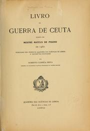 Livro da guerra de Ceuta by Mattheus de Pisano 15th cent