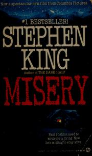 Cover of: Misery by Stephen King