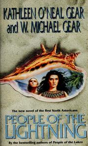 Cover of: People of the lightning by Kathleen O'Neal Gear