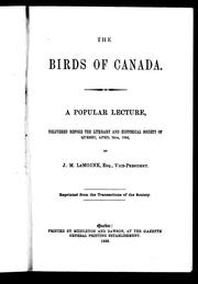 Cover of: The birds of Canada by Le Moine, J. M. Sir