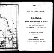 Journal of a voyage of discovery, to the Arctic regions by Alexander Fisher