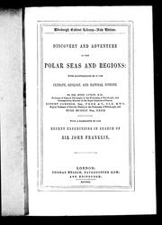Cover of: Discovery and adventure in the polar seas and regions by Leslie, John Sir