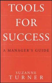 Tools For Success (Tools for Success) PDF