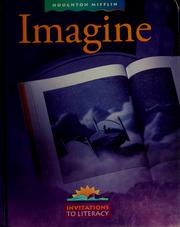 Cover of: Imagine (Invitations to Literacy) by John J. Pikulski, J. David Cooper, Kathryn H. Au