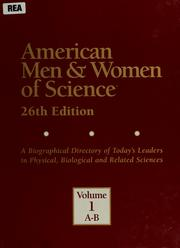Cover of: American men & women of science by Andrea Kovacs Henderson