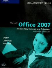 Microsoft Office 2007 by Gary B. Shelly