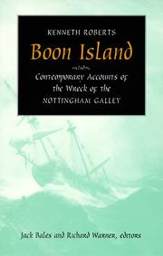 Boon Island by Roberts, Kenneth Lewis