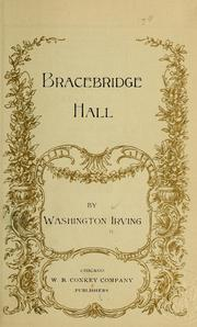 Cover of: Bracebridge Hall by Washington Irving