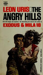 Cover of: The angry hills by Leon Uris