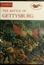 Cover of: The Battle of Gettysburg by Bruce Catton