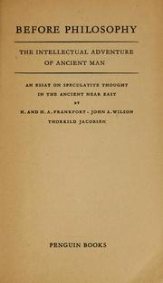 Ancient east essay in near speculative thought