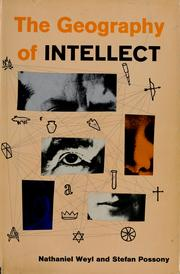The Geography of Intellect by Nathaniel Weyl
