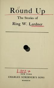 Round up by Ring Lardner