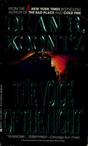 Cover of: Voice of the night (The) | Dean R. Koontz