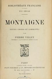 Essais by Michel de Montaigne