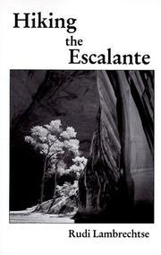 Hiking The Escalante PDF