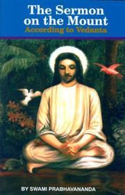 The Sermon on the Mount According to Vedanta PDF