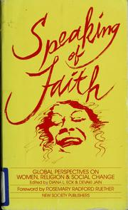 Speaking of Faith by Diana L. Eck