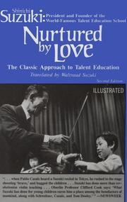 Nurtured by Love PDF