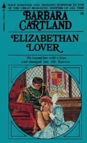 Cover of: Elizabethan Lover by 