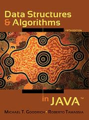 Data structures and algorithms in Java by Michael T. Goodrich, Roberto Tamassia