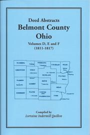 Deed Abstracts, Belmont County, Ohio PDF