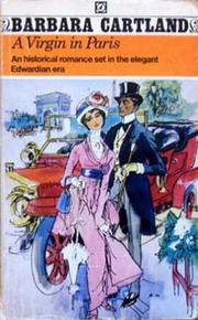 A Virgin in Paris = An Innocent In Paris by Barbara Cartland