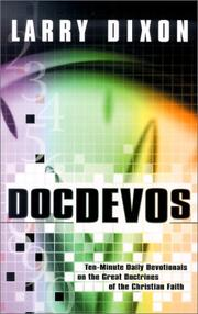 Cover of: DocDEVOs by Larry Dixon