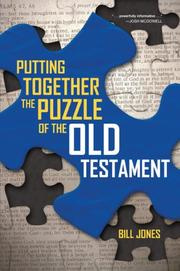 Cover of: Putting Together The Puzzle of the Old Testament by