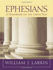 Cover of: Ephesians by William J. Larkin