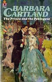 The prince and the pekingese by Barbara Cartland