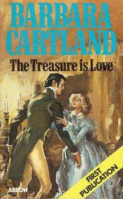 The treasure is love by Barbara Cartland