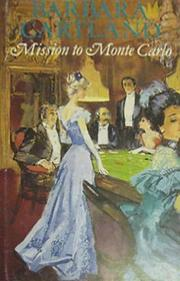 Mission to Monte Carlo by Barbara Cartland