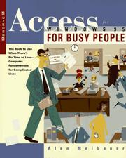 Access for Windows 95 for busy people PDF