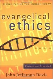 Evangelical ethics by John Jefferson Davis