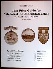 Rich Hartzog's 1986 Price Guide for Medals of the United States Mint PDF