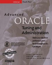 Advanced Oracle tuning and administration PDF